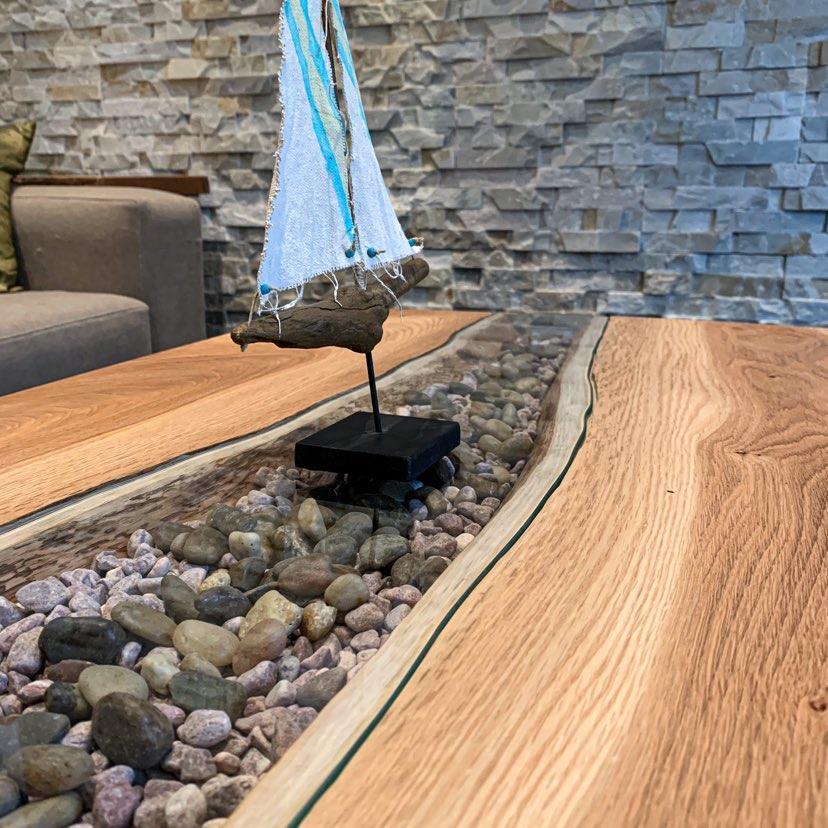 LEF- shoreline coffee table