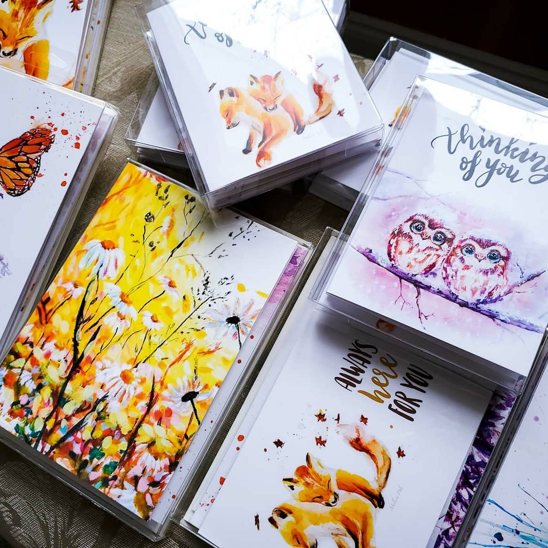Cards, art cards, Muskoka artwork, muskoka, muskoka artist, original artwork, blank cards, shop local