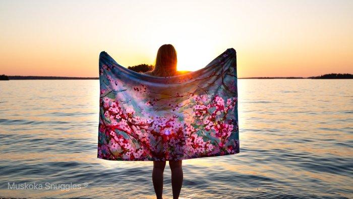 Muskoka Snuggles, blanket, blankets, Muskoka